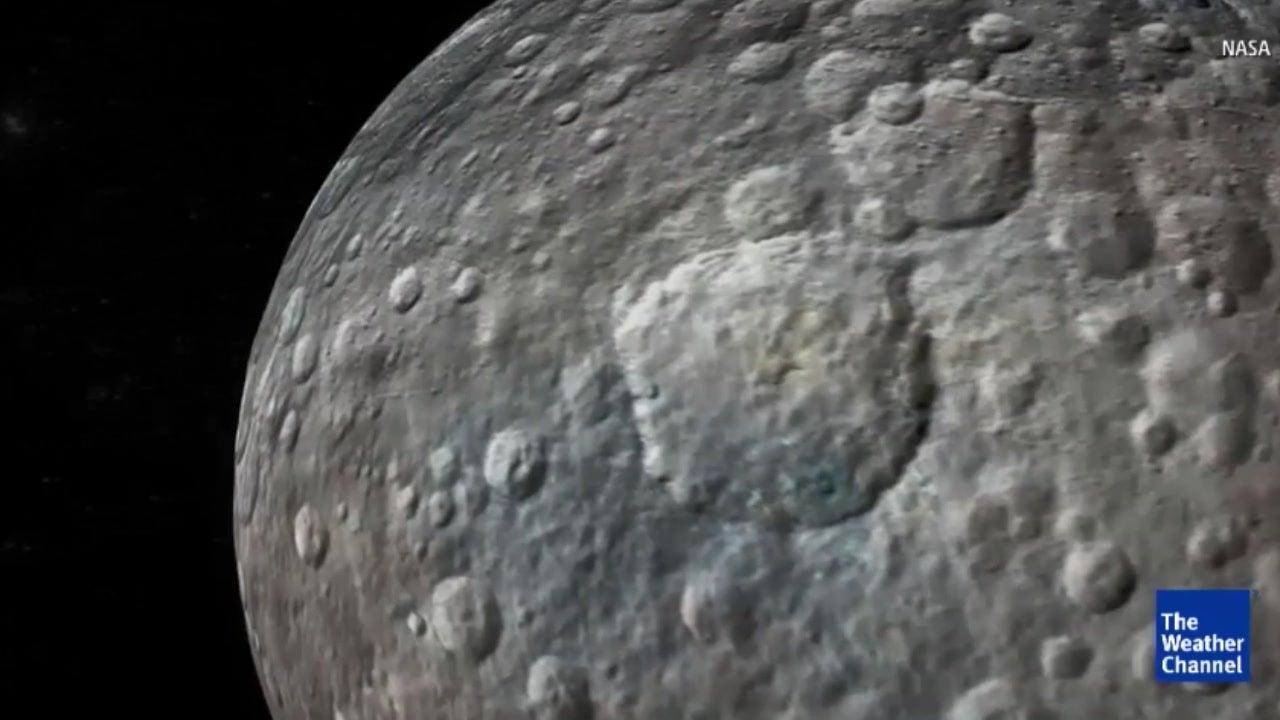 Ceres: Geheimnis um helle Flecken ist gelüftet