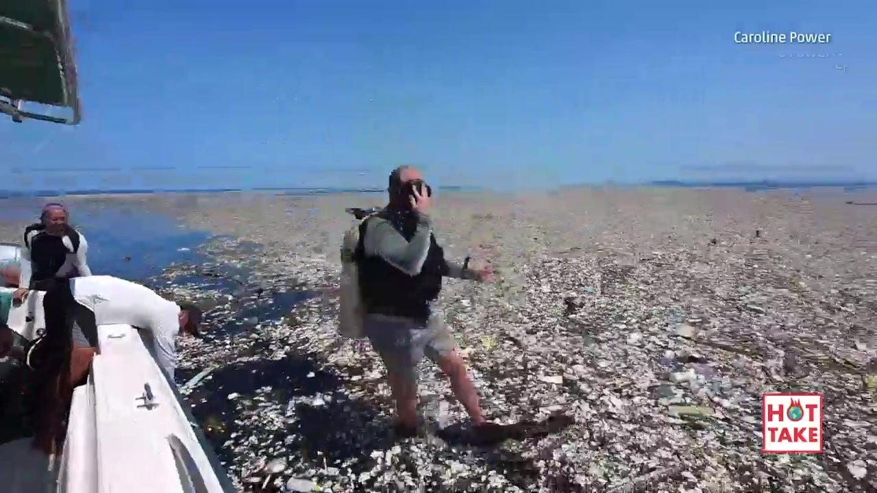 Shocking Footage of Trash in Caribbean Sea