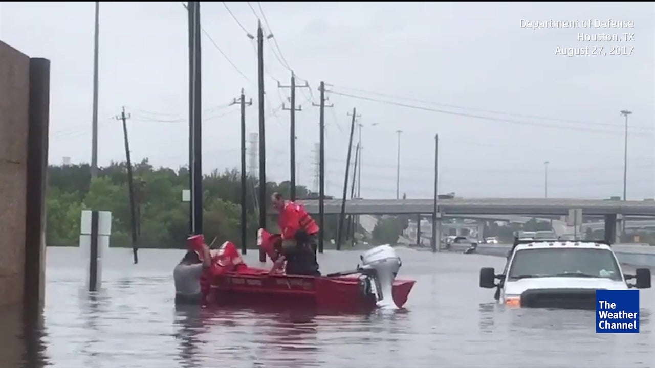 Climate Change May Lead to More Harvey-Like Rains