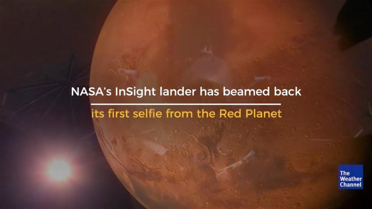 NASA's InSight Lander Takes First Selfie on Mars