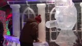 Amazing Ice Sculptures at Russian Ice Festival