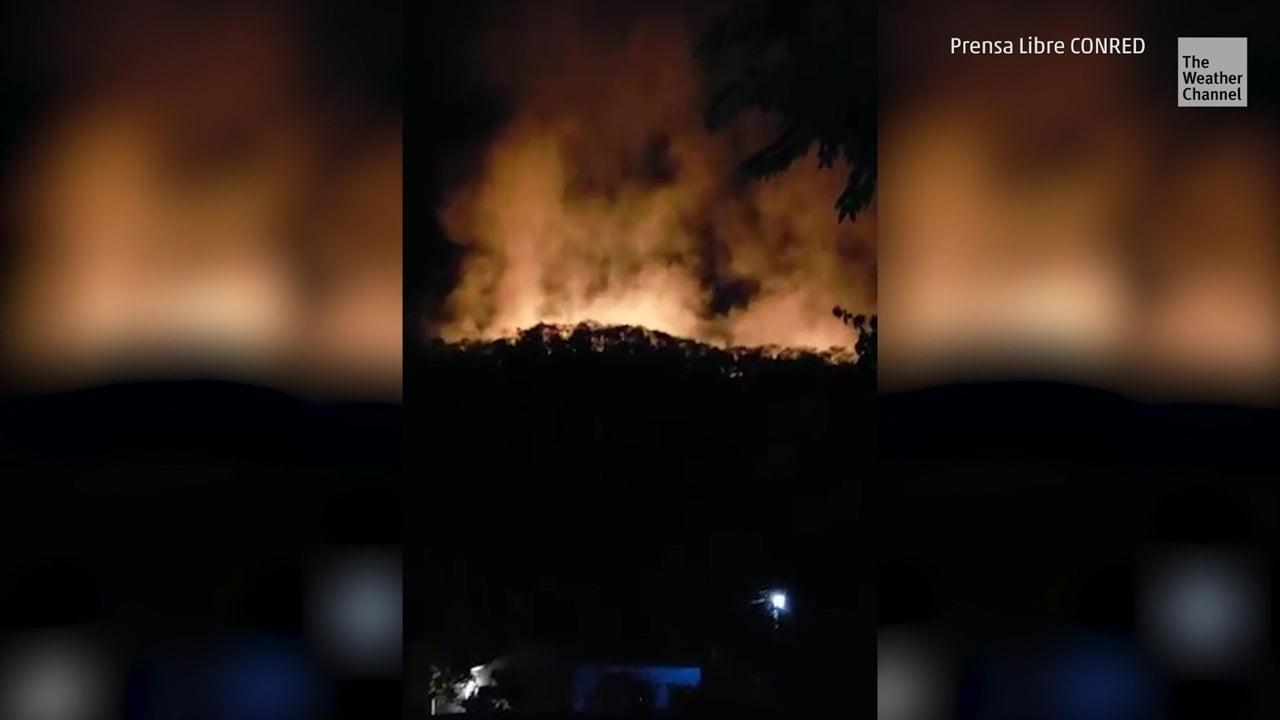 Incendios en Petén amenazan a especies en peligro