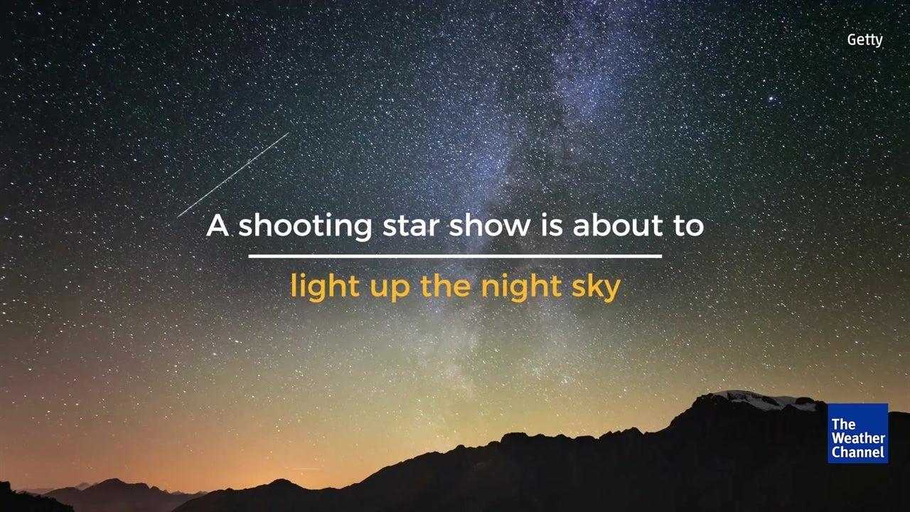 The Leonid meteor shower peaks tonight