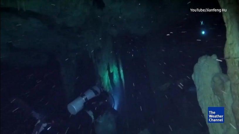 Descoberta maior caverna subaquática