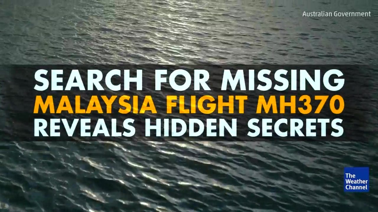 Watch: Missing flight search reveals hidden world