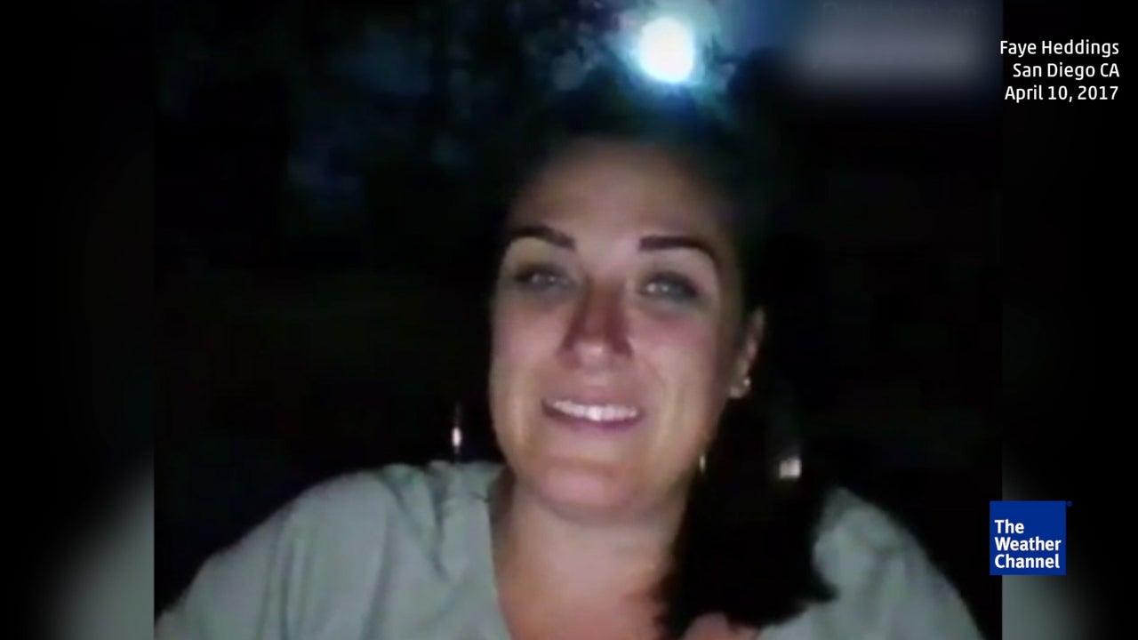 Grüße aus dem All: Selfie mit einem Meteor
