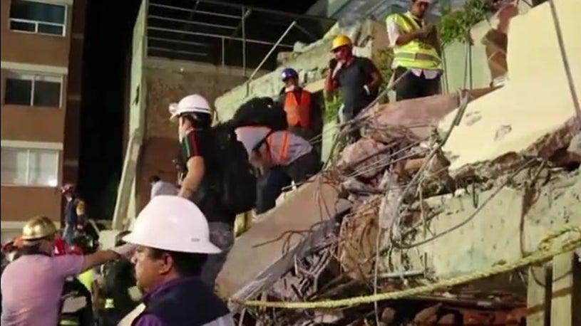 Mexico School Collapse
