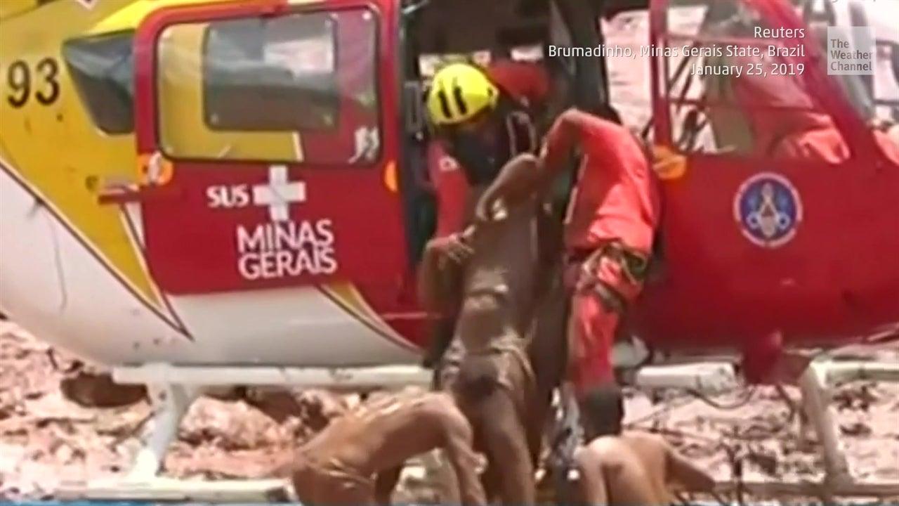 Colapso de represa en Minas Gerais, Brasil