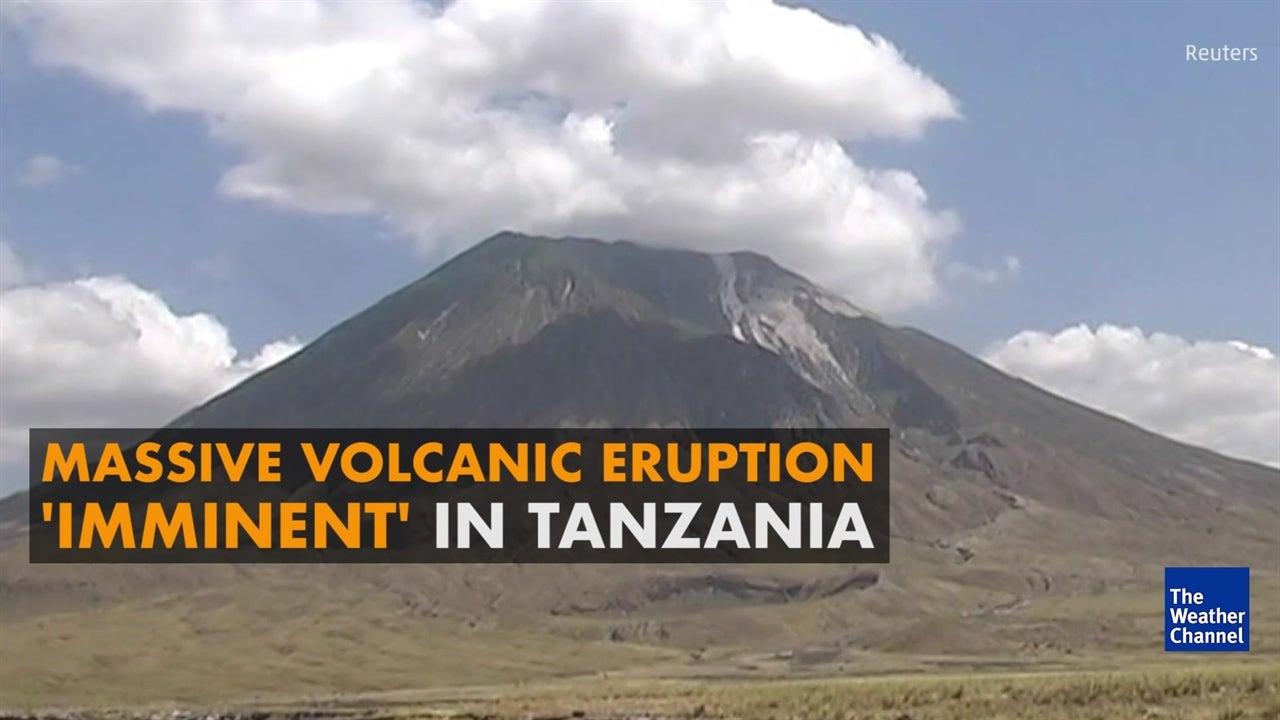 Watch:  'Mountain of God' eruption imminent