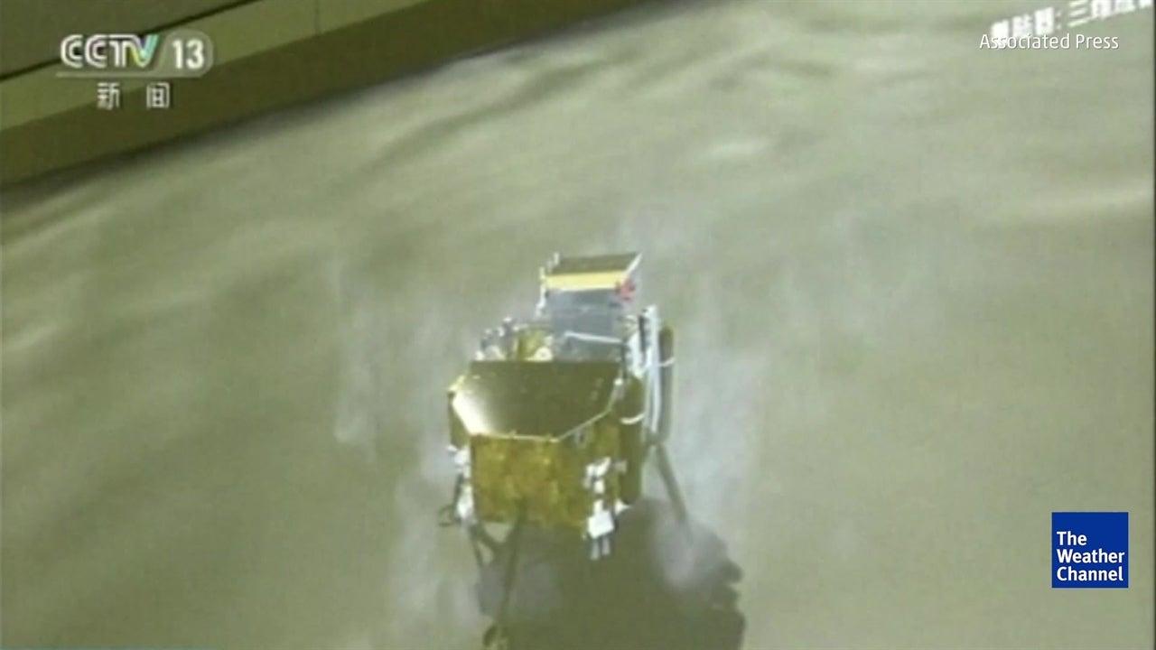 Sonda espacial aterra no lado 'oculto' da Lua