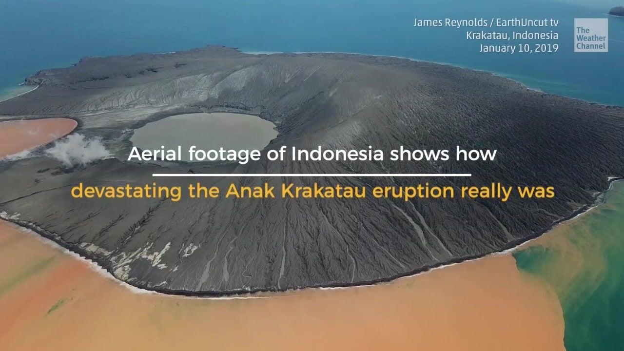 The New Anak Krakatau