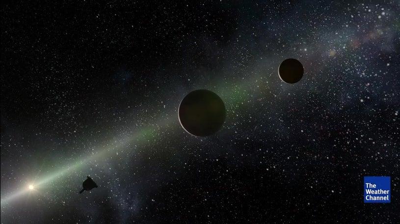 Sonda espacial New Horizons sobrevoa Ultima Thule