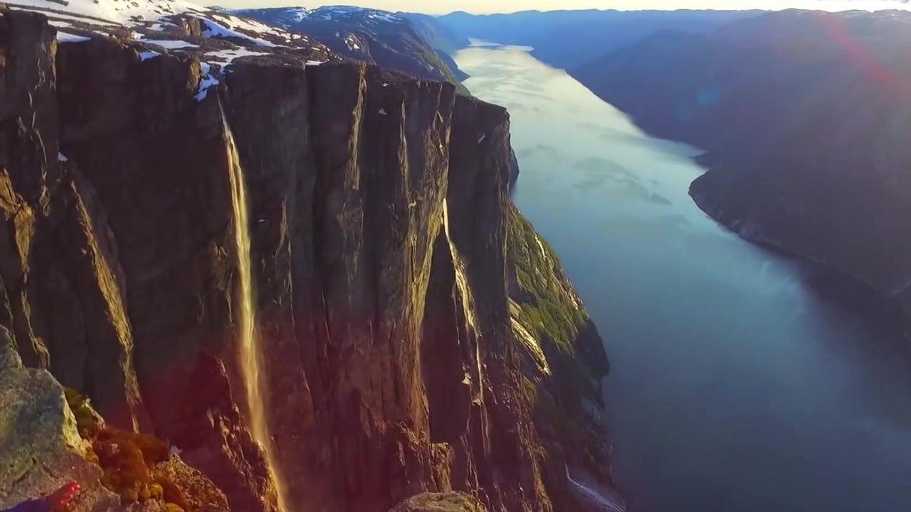 Drone Captures Stunning Views of Norway