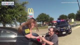 Officers Stage Traffic Stop Marriage Proposal