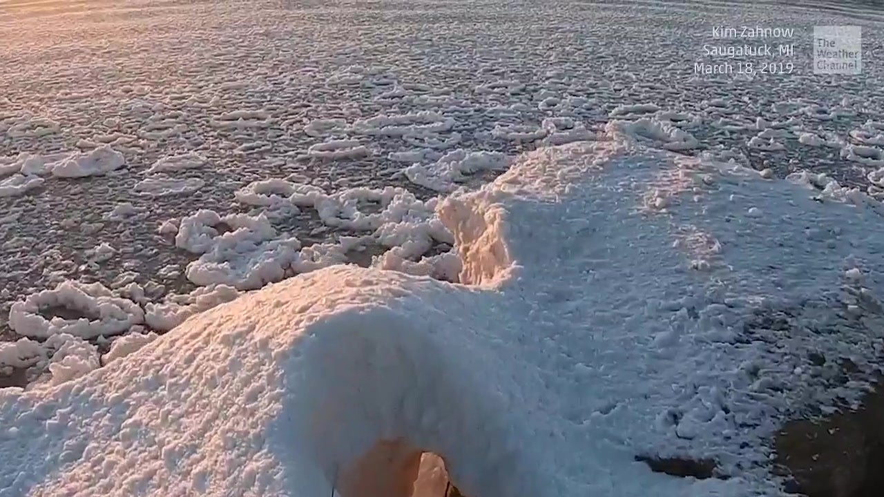 Not Your Average Lake Ice
