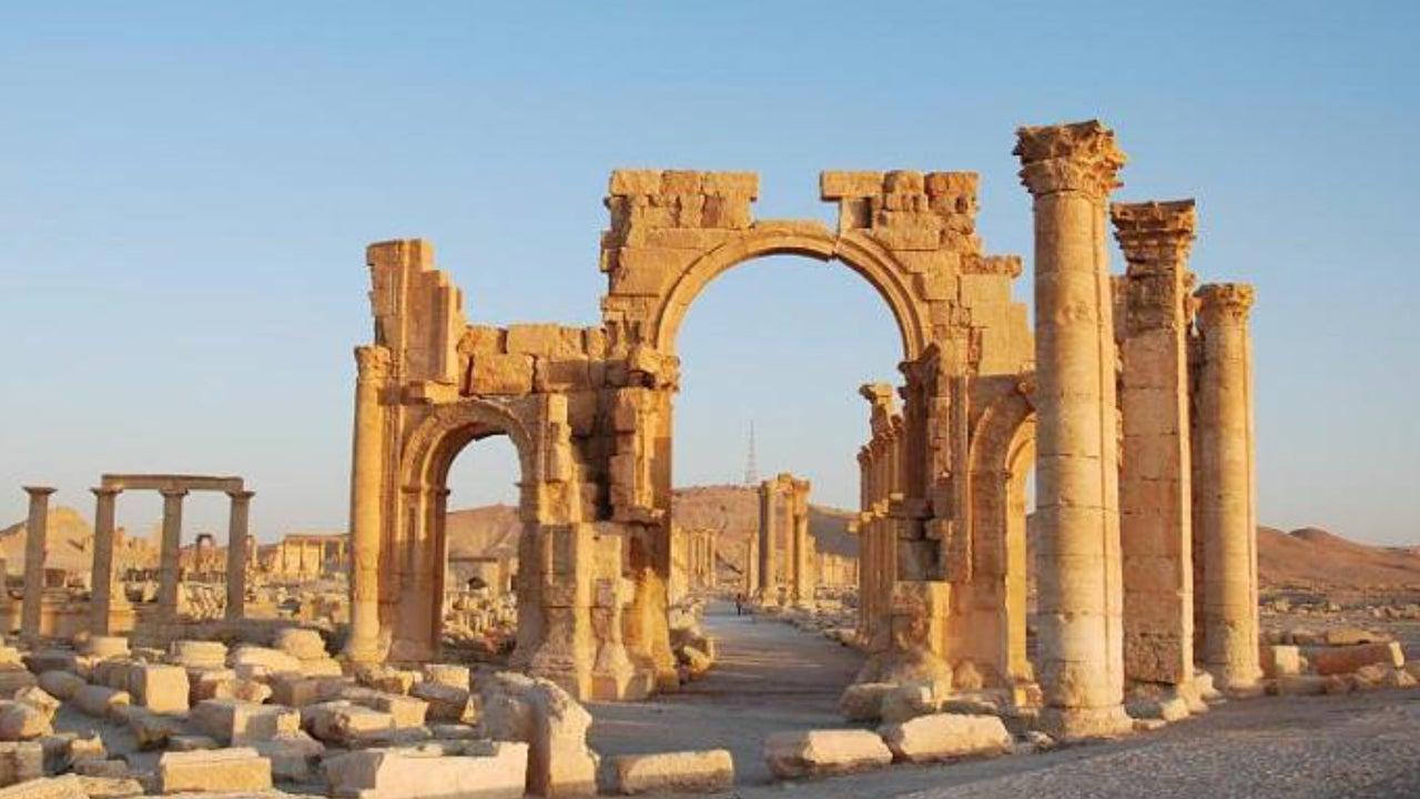 Antike Oasenstadt ist nicht wiederzuerkennen