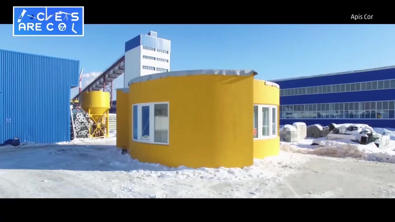 Liveable House 3D Printed in 24 Hours