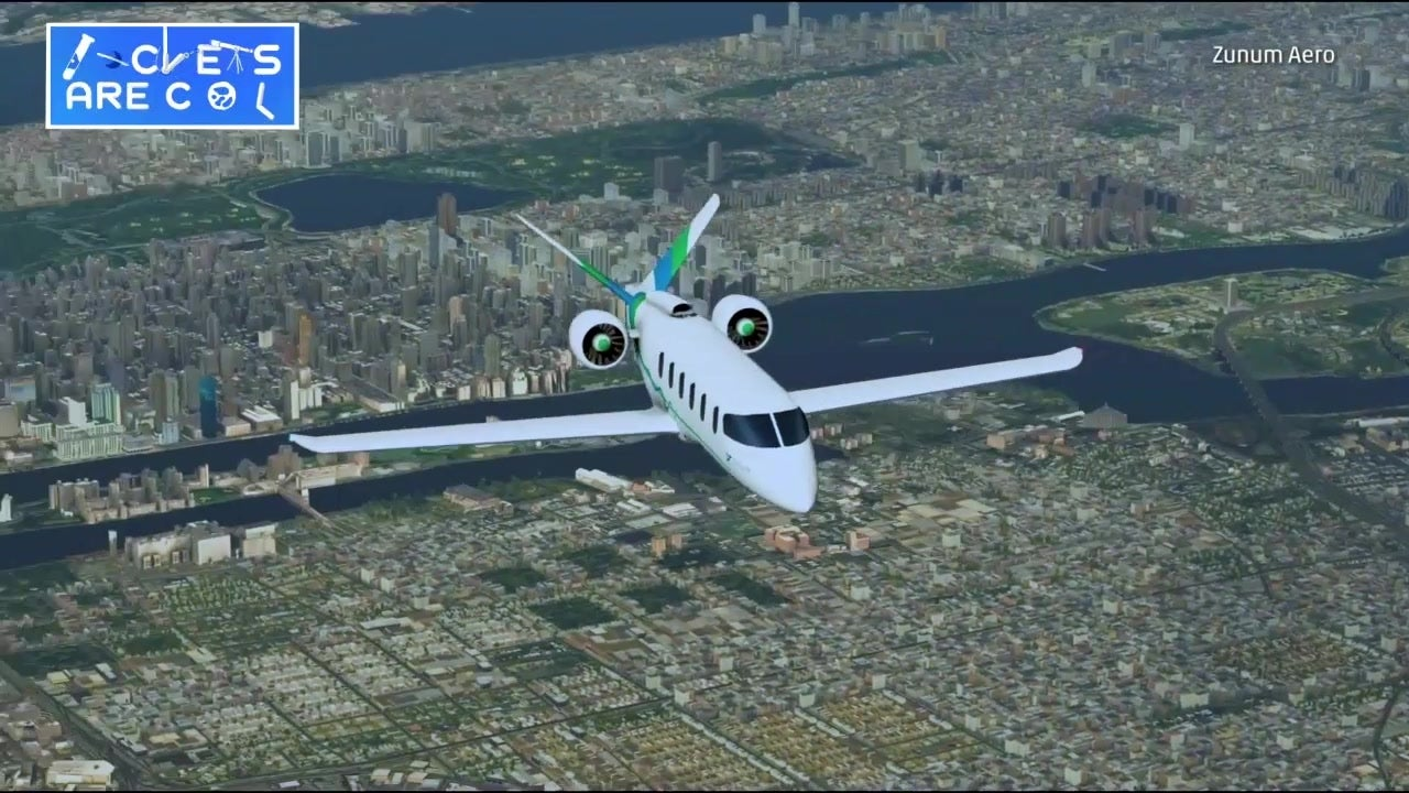 Hybrid-Electric Commercial Jet to Fly in 2022