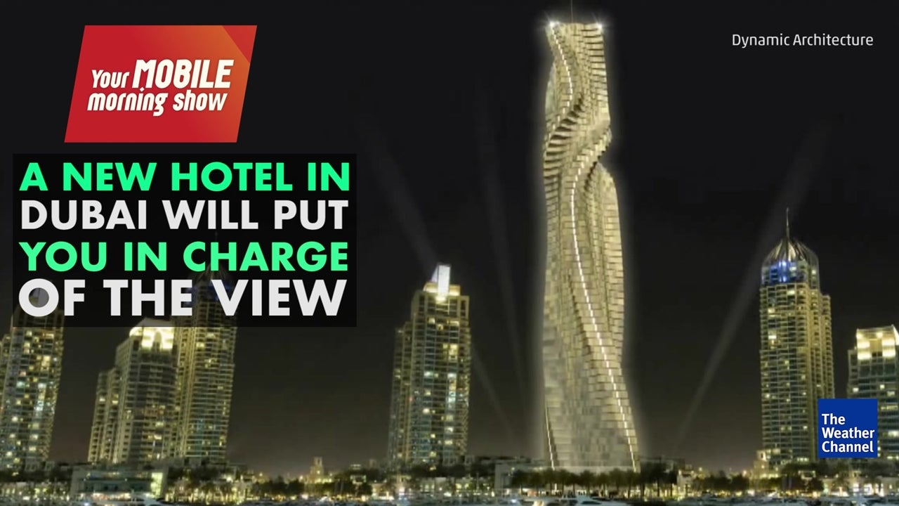 Watch: Dubai hotel to feature rotating rooms