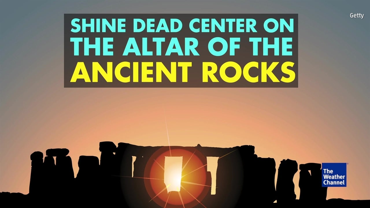 Watch: Hundreds flock to Stonehenge for summer solstice