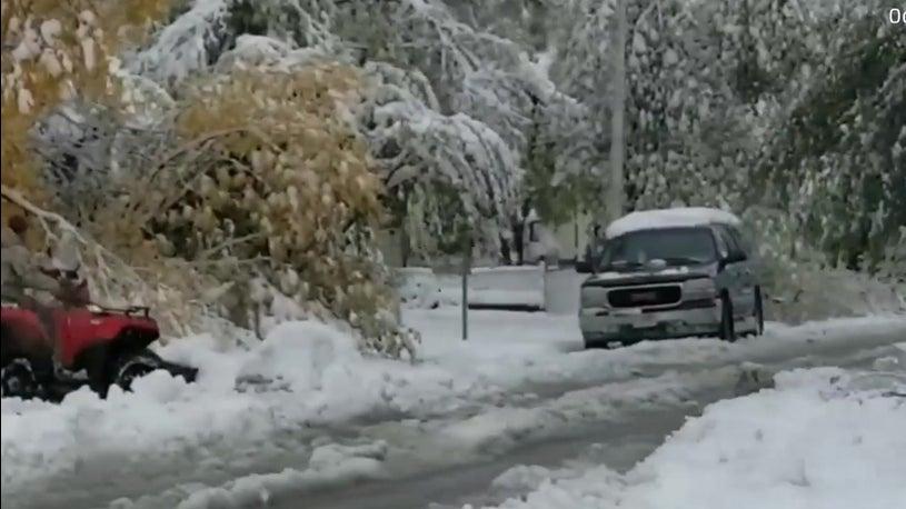Montana Breaks Snow Records