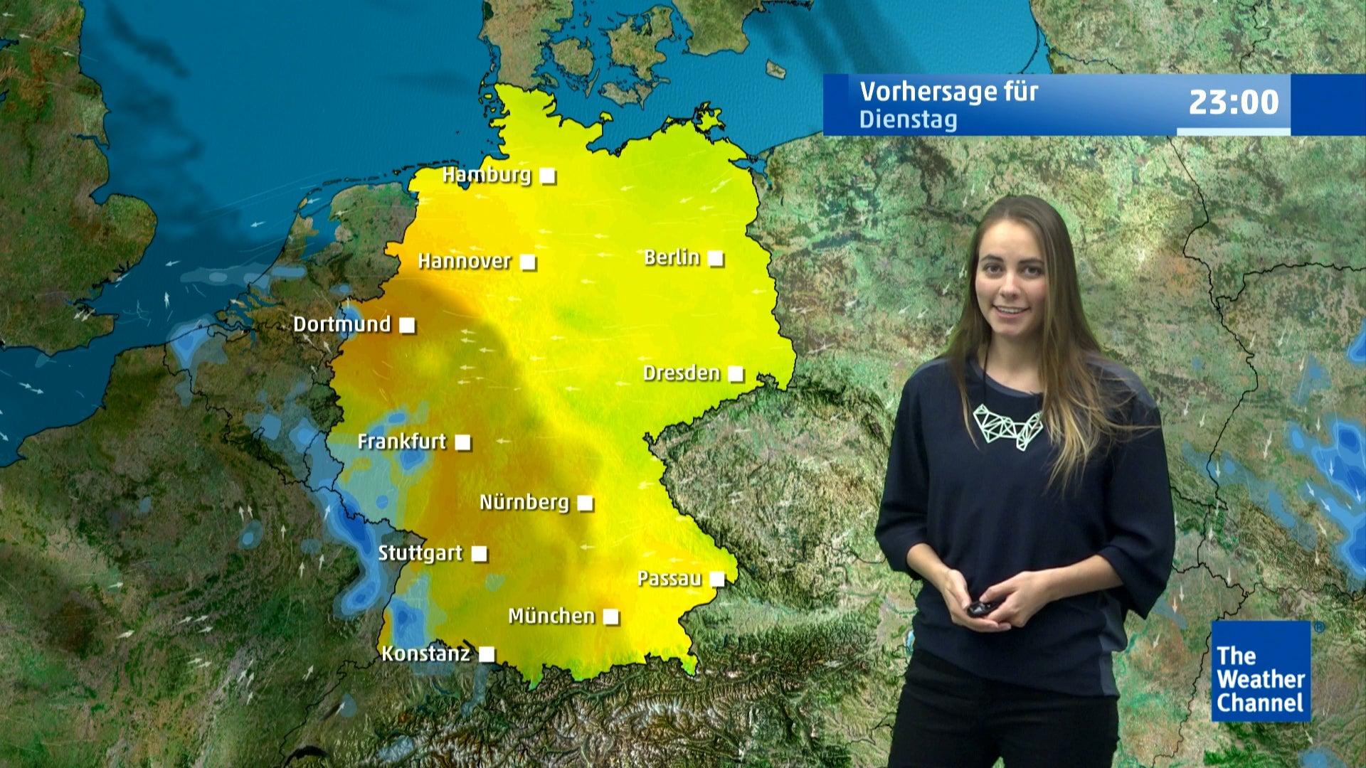 Tief René stört Katharina - Hier regnet es ab Dienstag