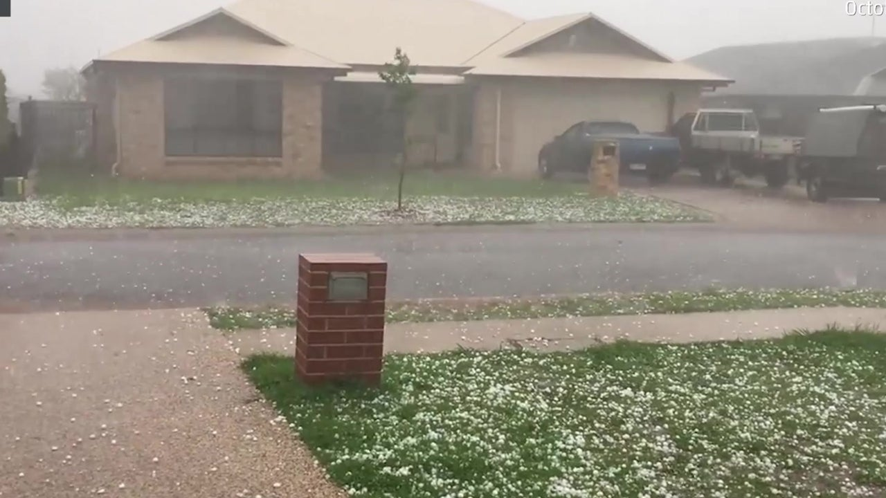 Crazy Storm Pounds Queensland