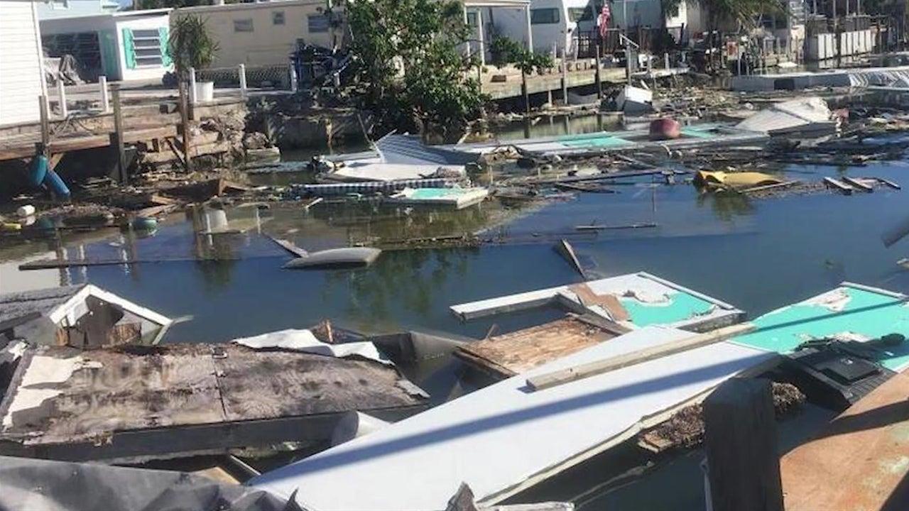 irma debris still clogging florida canals