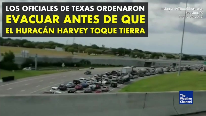 Texas: Prepárate para Harvey