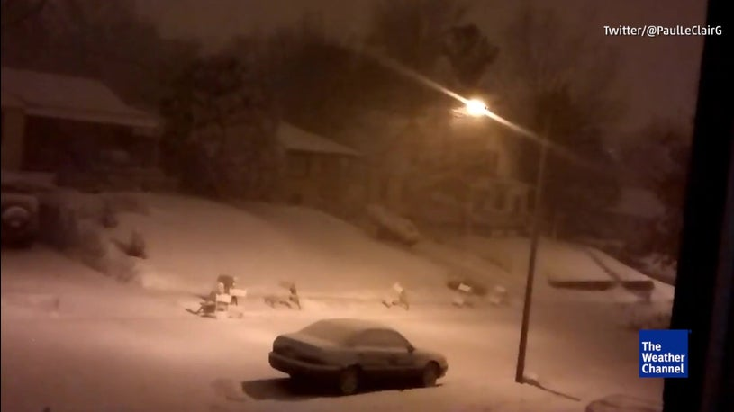 Catching Thundersnow on Camera is the Best