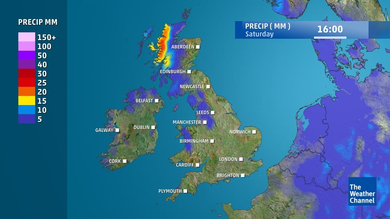 UK Weather: Will it rain this weekend?