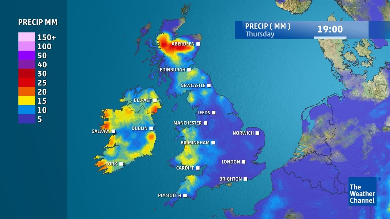 WATCH: When is it expected to rain this week?
