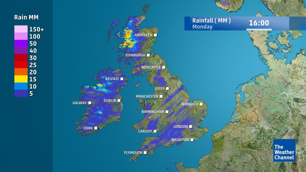 WATCH: Showers expected in some locations