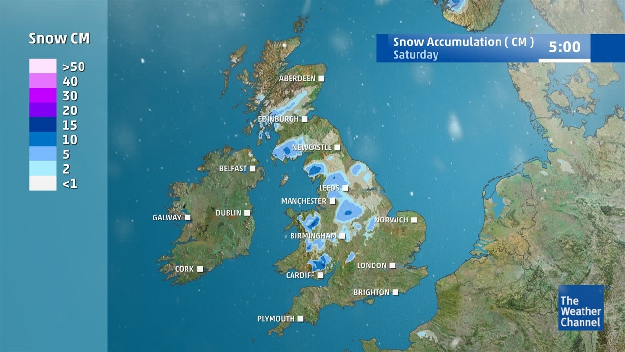 VIDEO: Where and when is snow expected to fall?