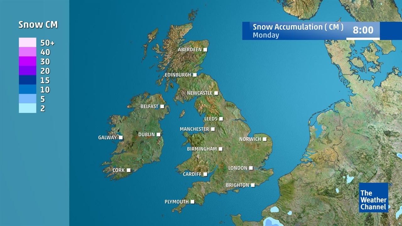 VIDEO: Where is snow expected to fall this week?