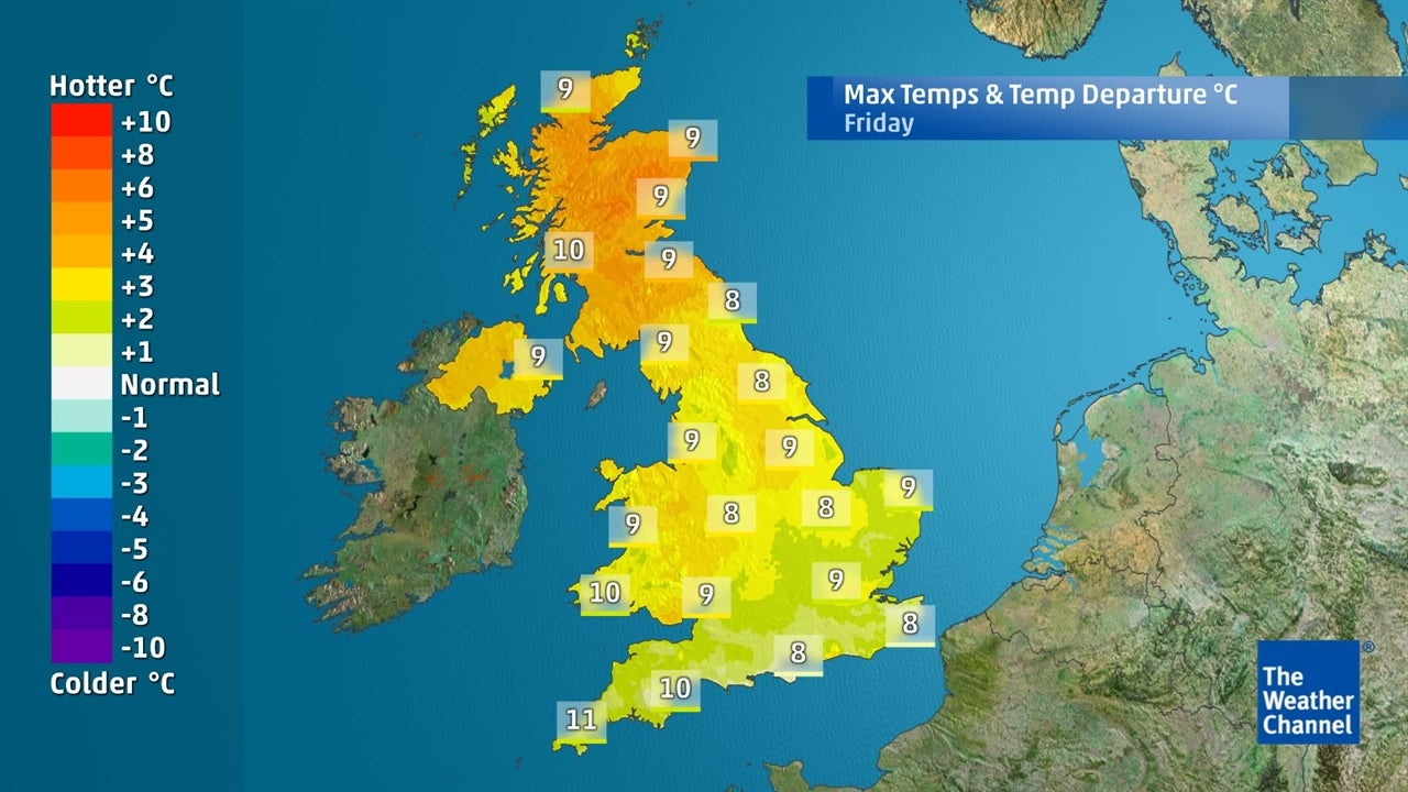 UK Weather: Will it be mild for most during the weekend?