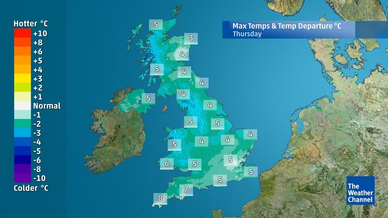 Becoming Colder In The Next Few Days