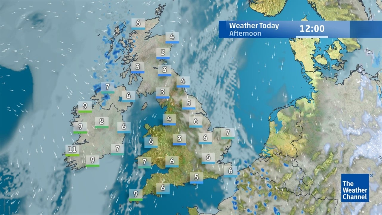 WATCH: Latest UK weather forecast for January 21