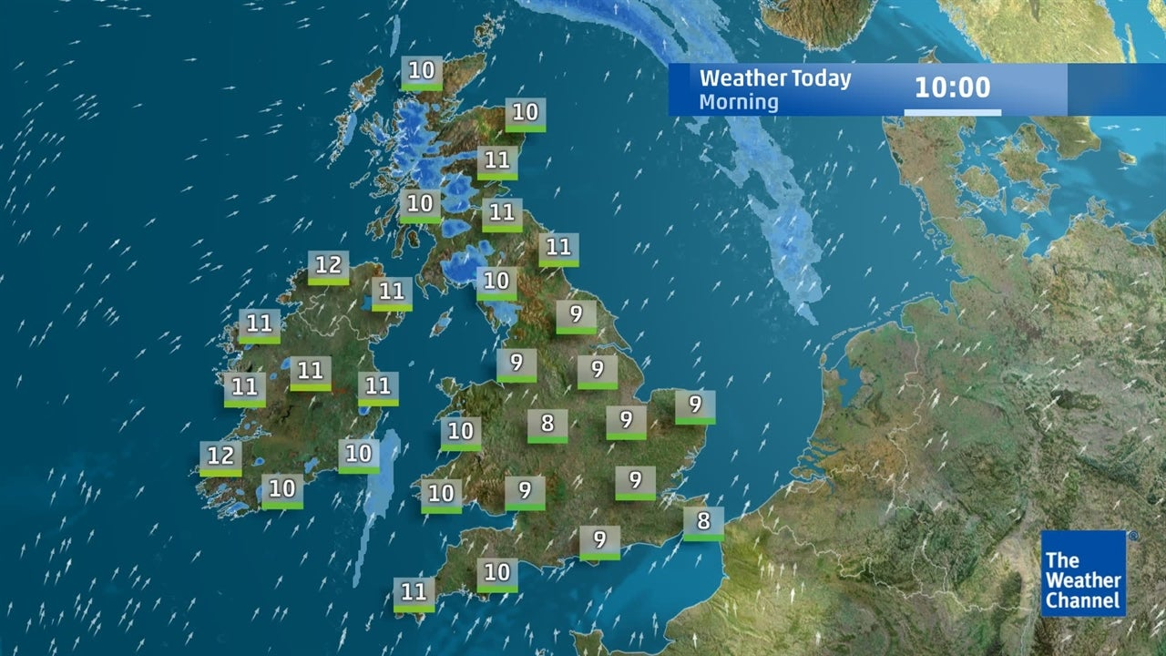 Today's UK weather forecast - February 20