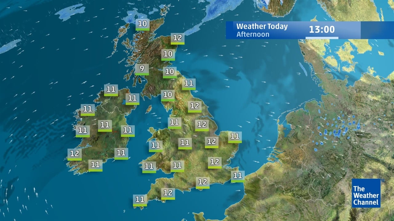 Latest UK weather forecast on March 26