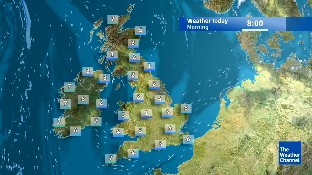 Today's UK weather forecast for April 11 | The Weather Channel on