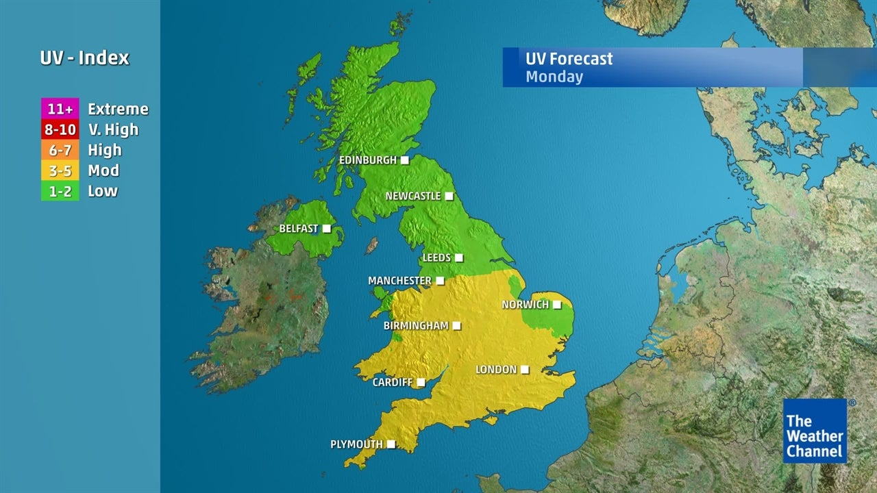 UV Index: Where is the sun at its strongest?