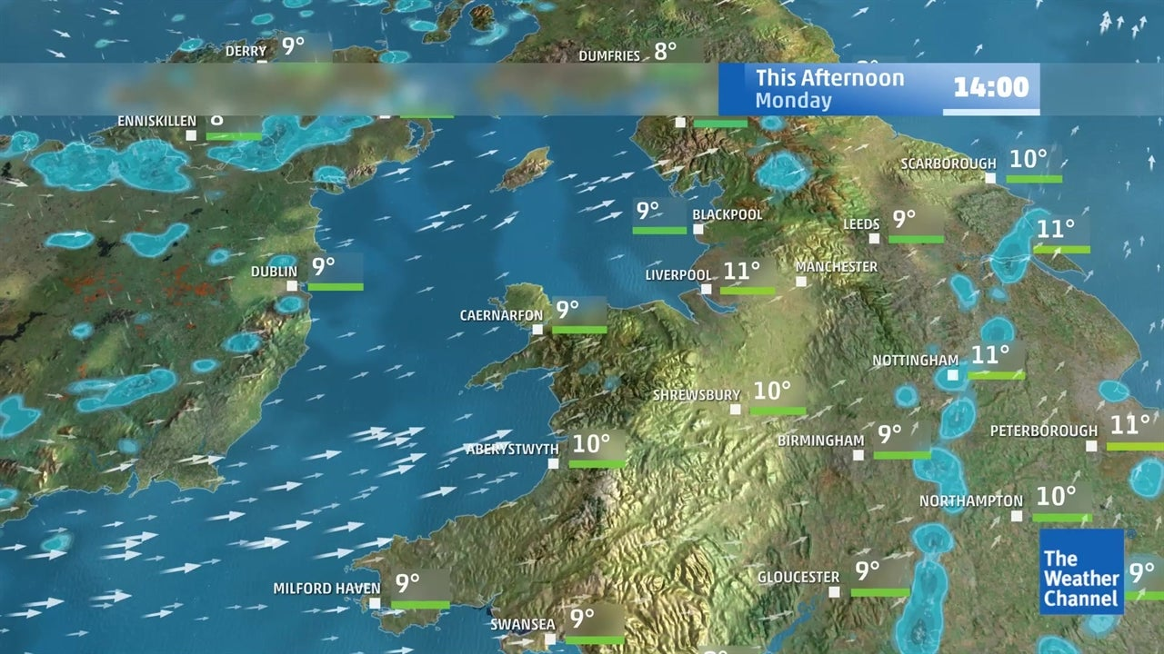 WATCH: Latest UK weather forecast - February 18