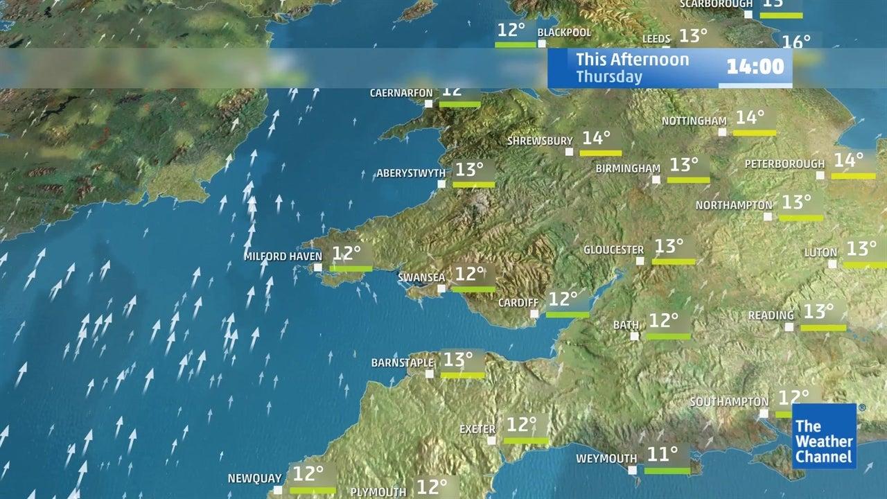 Today's latest UK weather forecast - February 21