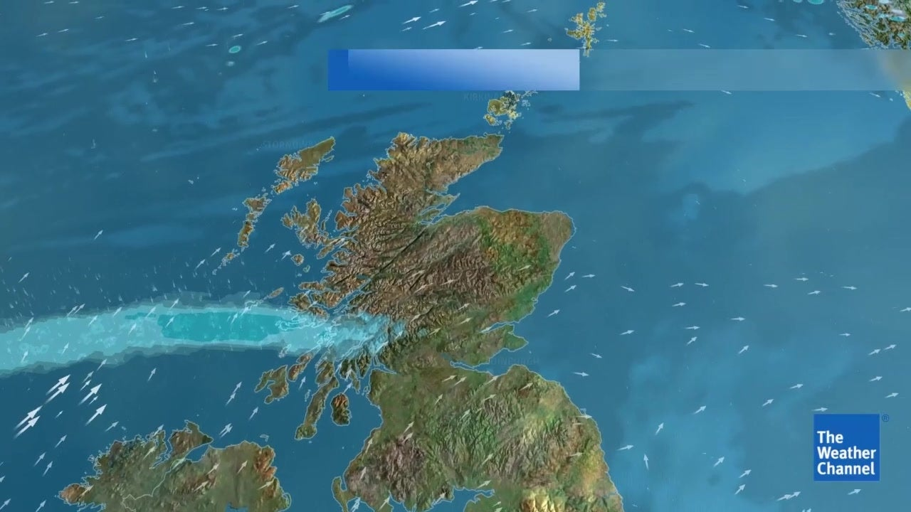 Five Day Weather Forecast - March 21