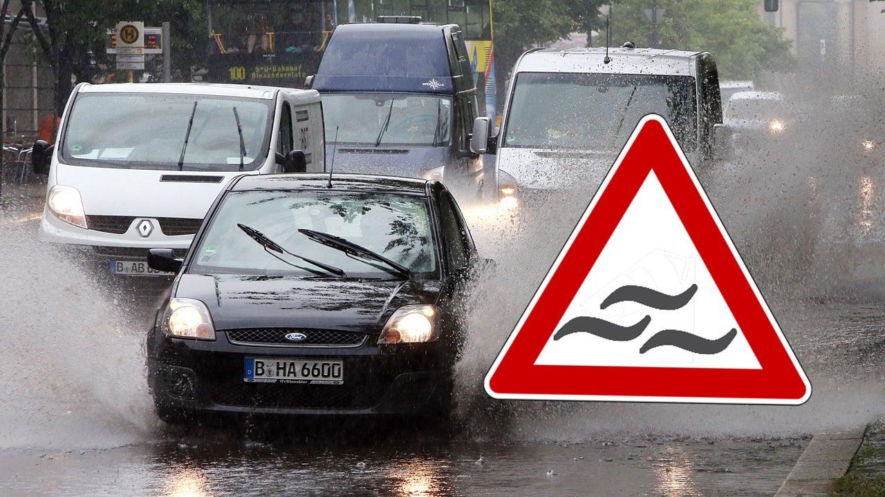 DWD warnt vor extremen Unwettern in Berlin