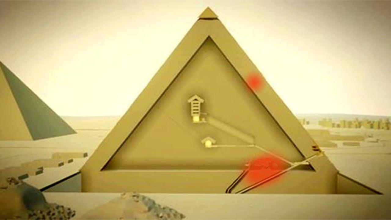 Cheops-Pyramide: Forscher entdecken zwei Kammern
