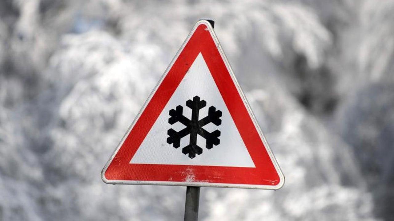 Hier schneit es jetzt nochmal bis 10 Zentimeter