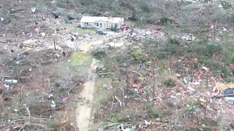 Tornados wüten mit 218 km/h im Südosten der USA