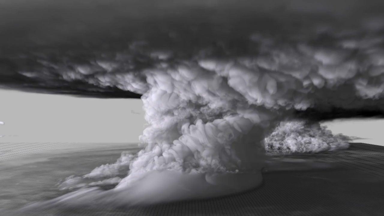 Hier ersteht ein Monster-Tornado zu neuem Leben